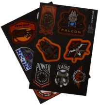 Star Wars Iron-on patches pack