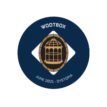 Wootbox Dystopia exclusive pin badge