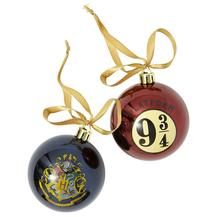 Exclusive Christmas Tree Balls – Harry Potter (2-Pack)